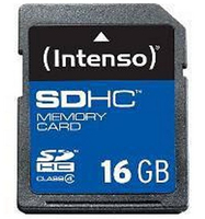 Intenso Secure Digital Card SDHC 16384MB