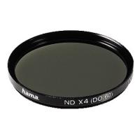 Hama Grey Filter, Grey x 4 D 0.60, 43,0 mm, HTMC Coated (Schwarz)