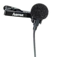 Hama LM-09 Lavalier Microphone (Schwarz)