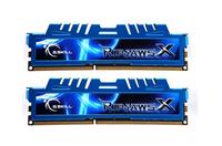 G.Skill RipjawsX 8GB (4GBx2) DDR3-2400 MHz
