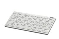 Ednet 86275 Tastatur für Mobilgerät (Weiß)