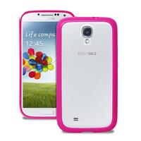 PURO SGS4CLEARPNK Handy-Schutzhülle (Pink, Weiß)