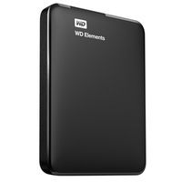 Western Digital 1.5TB Elements (Schwarz)