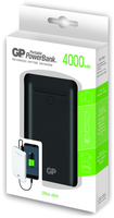 GP Batteries Portable PowerBank GL343 (Schwarz)