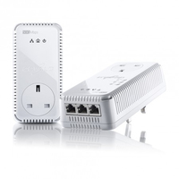 Devolo dLAN 500 AV Wireless+ (Weiß)