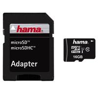 Hama 16GB microSDHC (Schwarz)