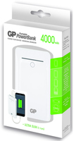 GP Batteries Portable PowerBank GL343 (Weiß)