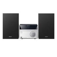 Sony CMT-S20B All-in-One Audiosystem (Schwarz, Silber)