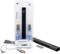 Bigben Interactive Wii RF / Cable Sensor Bar (Schwarz)