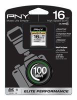 PNY 16GB SDHC (Schwarz)