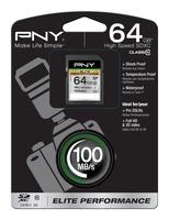 PNY 64GB SDXC (Schwarz)