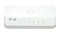 D-Link GO-SW-5E Netzwerk Switch (Weiß)