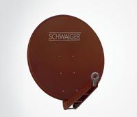Schwaiger SPI085PR011 10.7 - 12.75GHz Rot Satellitenantenne (Rot)