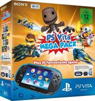 Sony PlayStation Vita Wi-Fi / PS Vita Mega Pack 1 (Schwarz)