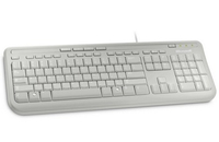 Microsoft Wired Keyboard 600, DE (Weiß)