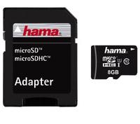 Hama 8GB microSDHC (Schwarz)
