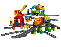 Lego Duplo 10508 - Eisenbahn Deluxe Set (Mehrfarbig)