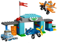 Lego Duplo 10511 - Skippers Flugschule (Mehrfarbig)