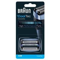 Braun 076520 Rasierapparat-Zubehör (Blau, Edelstahl)