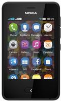Nokia Asha 501 Schwarz (Schwarz)
