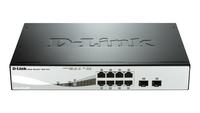 D-Link DGS-1210-08P Netzwerk Switch (Schwarz)