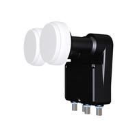 Inverto IDLB-QUDM21-MNOO6-8P 10.7 - 11.7GHz Schwarz Rauscharmer Signalumsetzer (Schwarz)