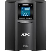 APC Smart-UPS C 1000VA (Schwarz, Edelstahl)