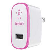 Belkin F8J052VFPNK Ladegeräte für Mobilgerät (Pink, Weiß)
