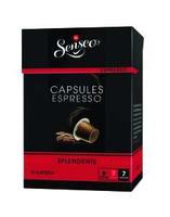 Douwe Egberts Espresso Splendente (Schwarz, Rot)