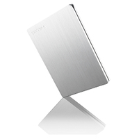 Toshiba STOR.E SLIM 1TB for MAC (Silber)