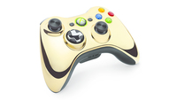 Microsoft 43G-00055 Spielkontroller (Chrom, Gold)