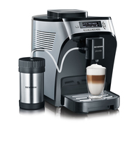 Severin KV8061 Kaffeemaschine (Schwarz, Silber)