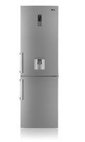 LG GB5237PVEZ Kühl-Gefrierschrank (Grau, Platin)