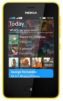 Nokia Asha 501 Gelb (Gelb)