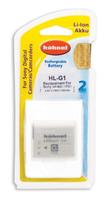 Hahnel HL-G1 Wiederaufladbare Batterie / Akku (Weiß)
