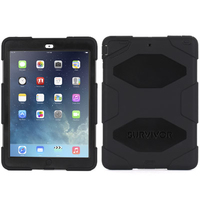 Griffin Survivor iPad Air (Schwarz)