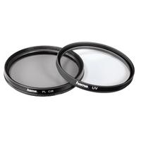 Hama UV/POL, 52 mm (Schwarz, Transparent)