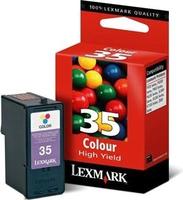 Lexmark №35 High Yield Color Ink Cartridge