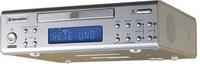 Roadstar CLR-2860CD CD-Radio (Silber)