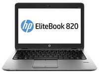 HP EliteBook 820 (Schwarz, Silber)