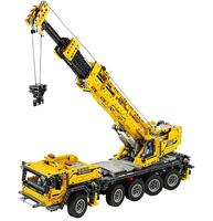 Lego Technic 42009 - Mobiler Schwerlastkran (Schwarz, Grau, Gelb)