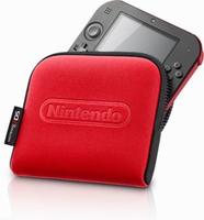 Nintendo 2211066 Schutzhülle für tragbare Spielekonsole (Schwarz, Rot)