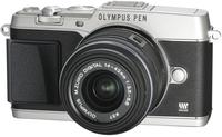Olympus PEN E-P5 + M.ZUIKO ED 14‑42mm (Silber)
