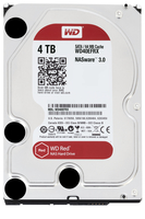Western Digital Red, 4TB, 6Gbps (Schwarz)