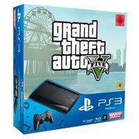 Sony Playstation 3 500GB + Grand Theft Auto 5 (Schwarz)