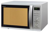 Sharp R941INW Mikrowelle (Silber, Edelstahl)