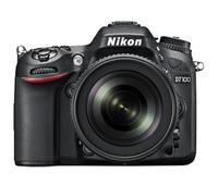 Nikon D7100 + AF-S DX NIKKOR 18-140mm SLR-Kamera-Set 24.71MP 1/4Zoll CMOS 6000 x 4000Pixel Schwarz (Schwarz)