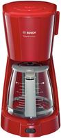 Bosch TKA3A034 Kaffeemaschine (Grau, Rot)