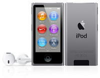 Apple iPod nano 16GB (Grau)