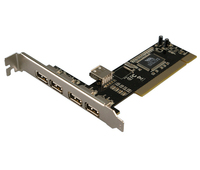 LogiLink 4+1-port USB 2.0 PCI Card